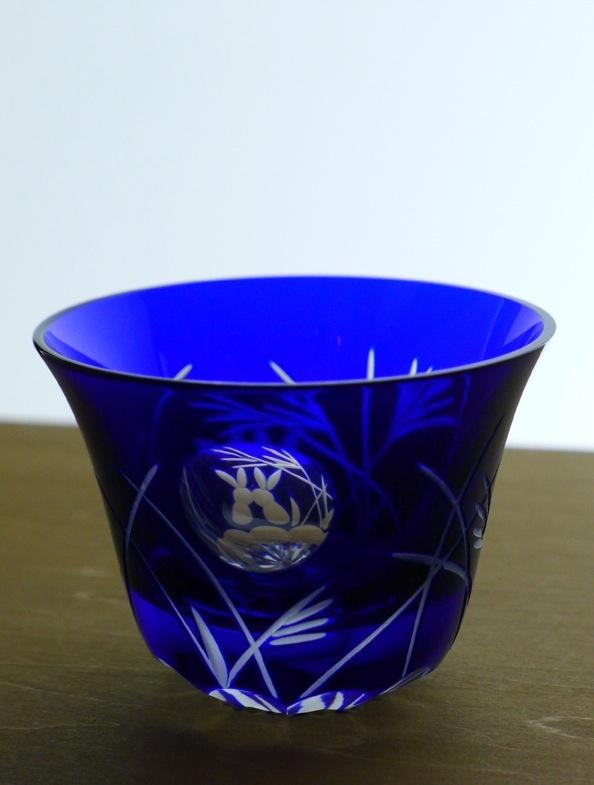 "This beautiful cut glass called "" Edo Kiriko"" is made in Tokyo."