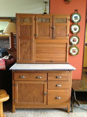 Antique Wilson Quot Hoosier Quot Cabinet Craigslist For 475