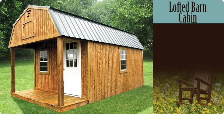 Frontier Portable Buildings. rent to own Shack