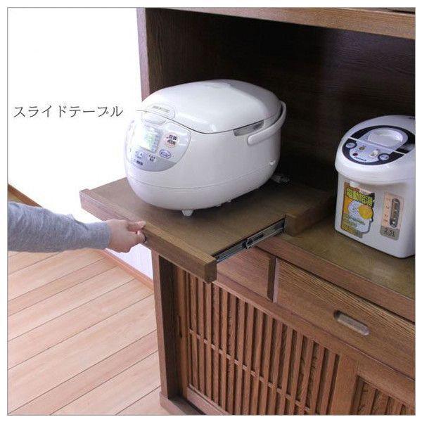 食器棚 引き戸 和 和風 モダン SALE セール【開梱設置サービス付】|stepone11|03