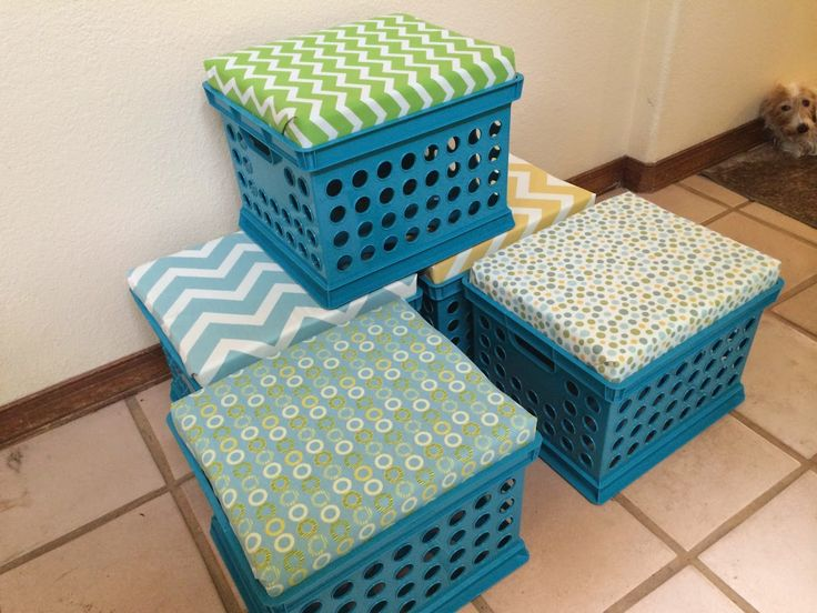 25 Best Ideas About Milk Crate Seats On Pinterest Crate