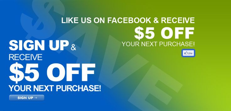 Like us on #Facebook & get $5 off! #Telco #Coupon #Deal #Shopping