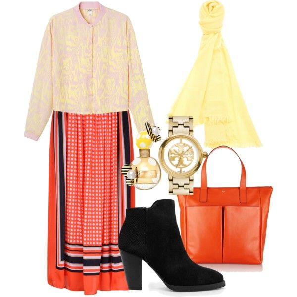 A fashion look from January 2015 featuring Monki blouses, MICHAEL Michael Kors skirts and MANGO ankle booties. Browse and shop related looks.