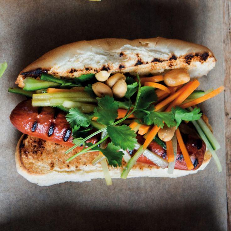 Thai-style hot dogs - MyKitchen