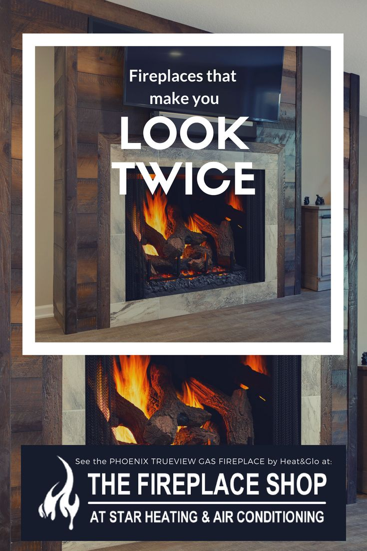 PHOENIX TRUEVIEW GAS FIREPLACE — Star Heating and Air