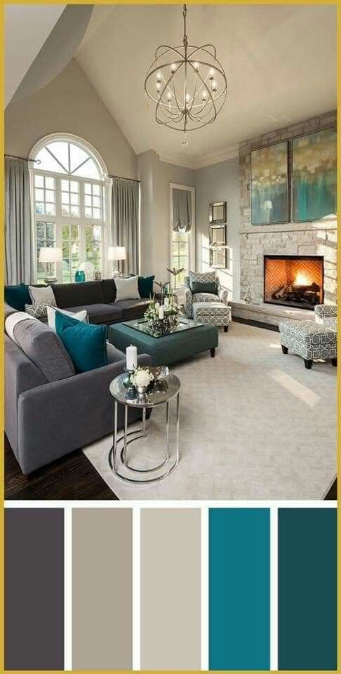 فن تنسيق الالوان Good Living Room Colors Living Room Color Schemes Living Room Color
