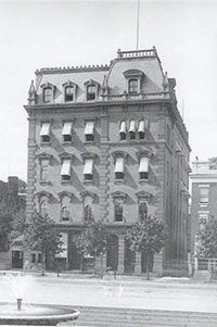 Freedmen's Saving Bank failed in 1874. However, in 1865 the Freedmen's Savings and Trust Company was founded.