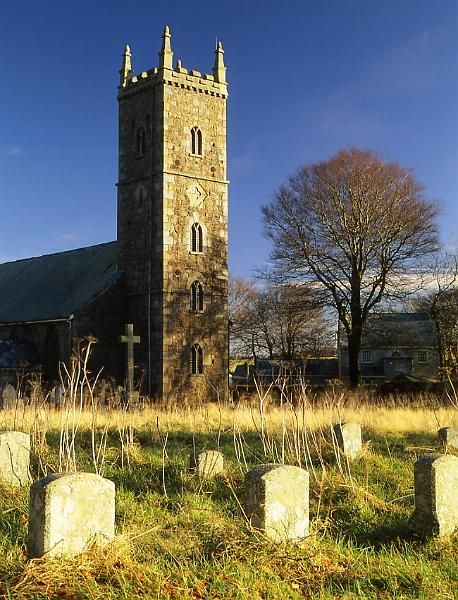 Dartmoor/UK, Devon, Dartmoor, Princetown Church