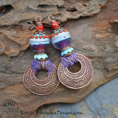 Earrings Everyday: Hoop, there it is #kristibowmandesign #magma