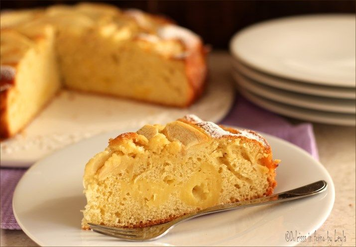 Torta di mele e crema pasticcera: la Torta Nua alle mele
