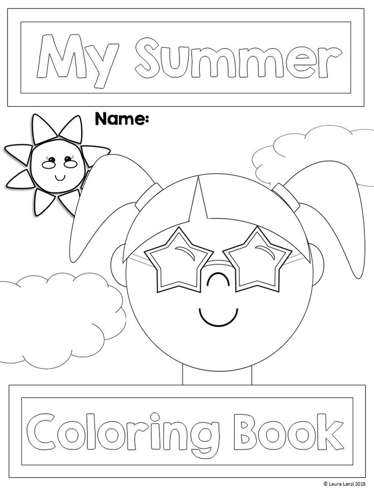 end of summer coloring pages - photo#23