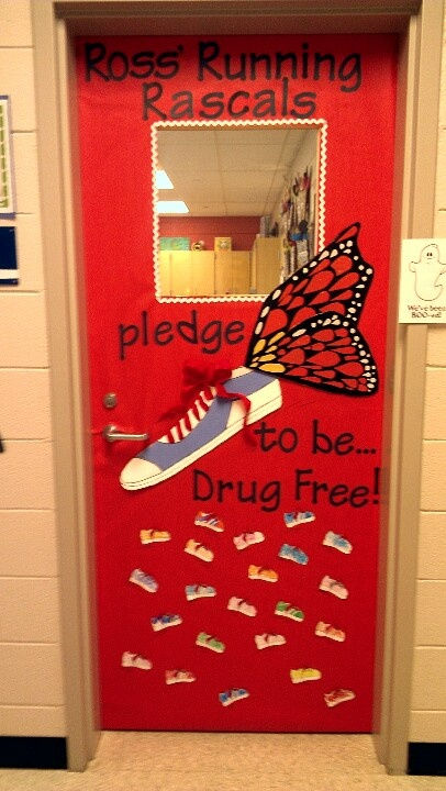 Red Ribbon Week Door Decorating Inspiration! Enter your ...