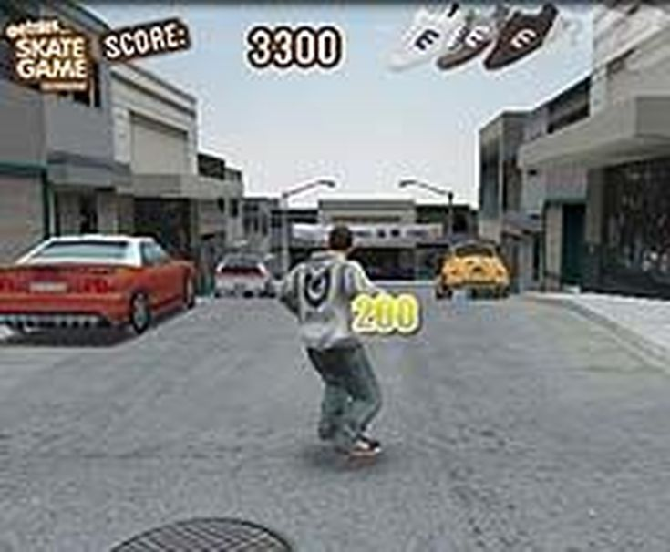 7 Great Skateboarding Games You Can Get Online For Free: Downhill Jam (by etnies)