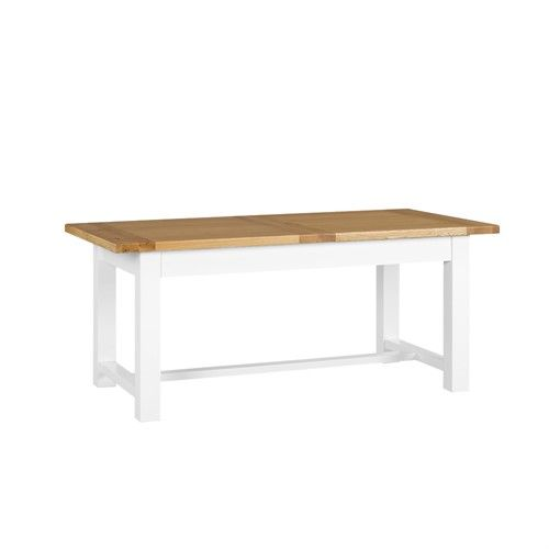 Astounding Snowshill White 180 220 260Cm Extending Table New House Short Links Chair Design For Home Short Linksinfo