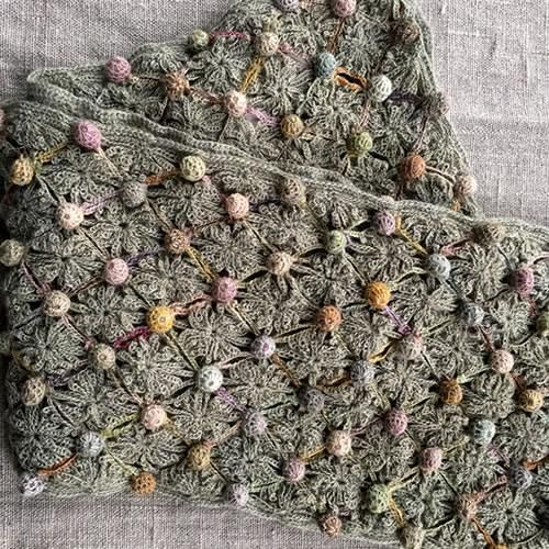 Sophie Digard - Negle sur Place Crocheted Scarf