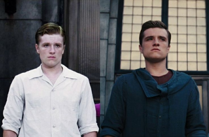 Peeta From Hunger Games vs Peeta from Catching Fire