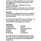 Need activities for explaining setting and tone in literature?  This 10 page notes and activities for working with setting can be used with any rea...