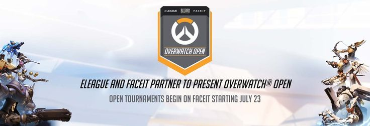ELeague and FaceIT partner to present Overwatch Open