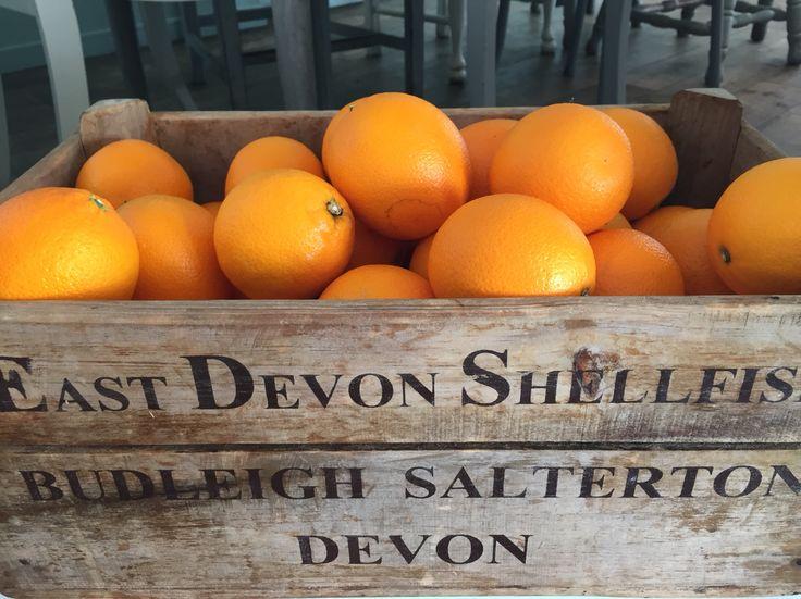 The Beach Deck fresh oranges