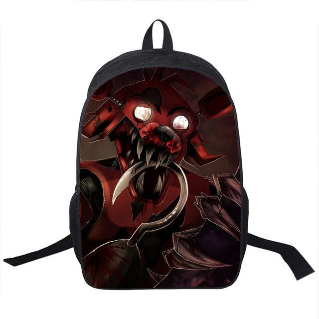 Anime Five Nights At Freddy Backpack For Teenagers Boys Girls School Bags Five Nights At Freddys Bag Children School Backpacks