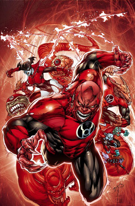 Red Lantern #1 by Ed Benes, Rob Hunter & Nathan Eyring