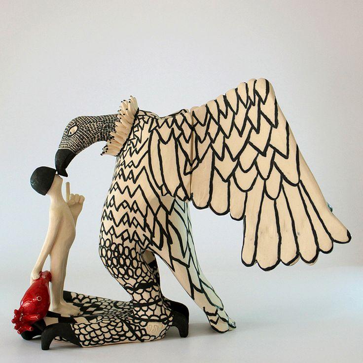 6088 Best Ceramics Sculptural Images On Pinterest