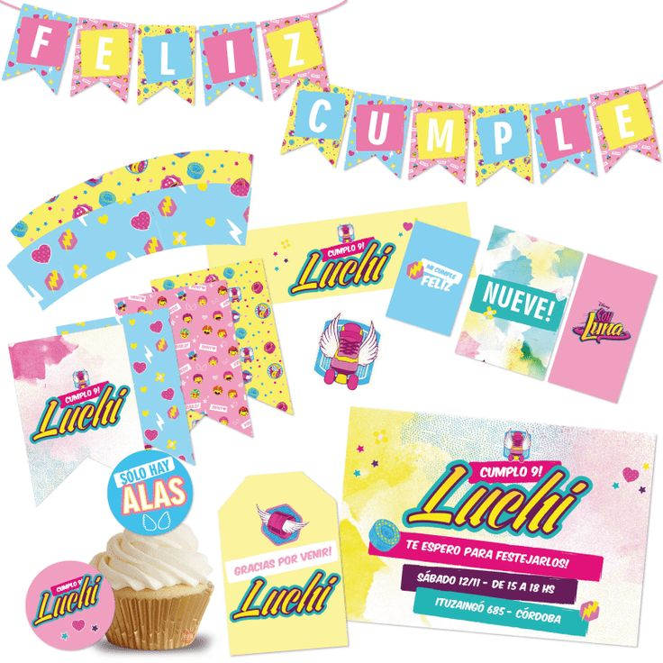 Kit imprimible Soy Luna en CumpleKits