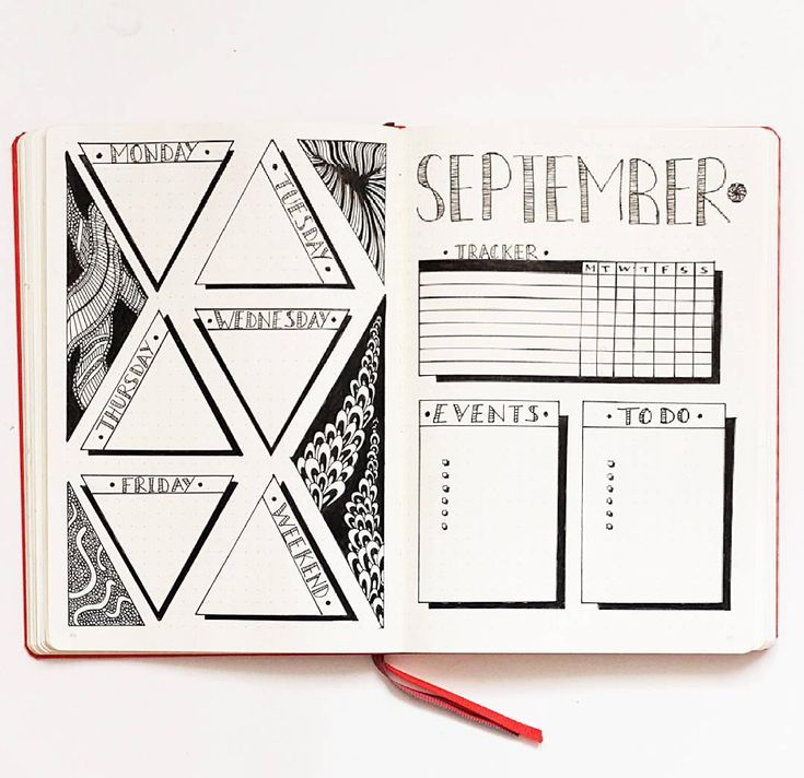 15 Weekly Bullet Journal Layout Ideas Too Good to Miss - She Tried What