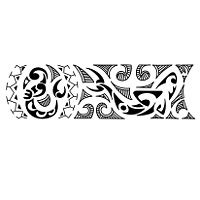 bracelet maori modèle tatouage