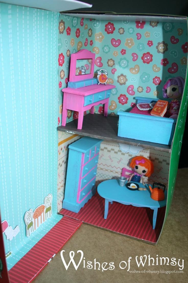 16 Best Shoebox Dollhouse Images On Pinterest Dollhouses
