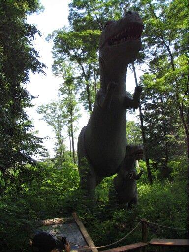 Zator. Park Dinozaurów. Małopolska. photo by Joanna Kaczmarek