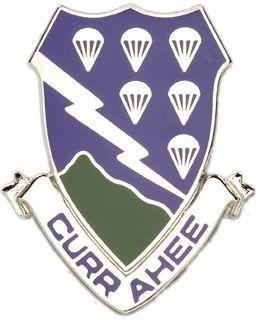 Het 506th Parachute Infantry Regiment, oorspronkelijk het 506de Parachute Infantry Regiment (506 PIR) tijdens de Tweede Wereldoorlog , is een in de lucht lichte infanterie regiment van het Leger van Verenigde Staten .