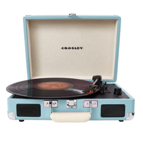 Crosley Cruiser Portable Turntable - Turquoise (PLATESPILLER)