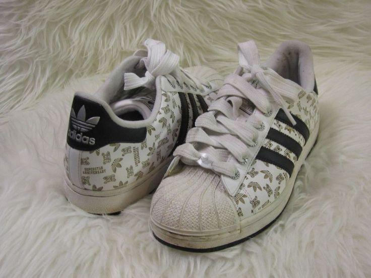 "Mens Adidas Superstar 35th Anniversary ""Anniversary"" Sneaker sz 9.5 Rare #Adidas #AthleticSneakers"