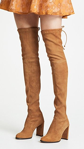 2ca5a4713a2 Stuart Weitzman Hiline Over the Knee Boots  OTKBoots  Boots  suede ...