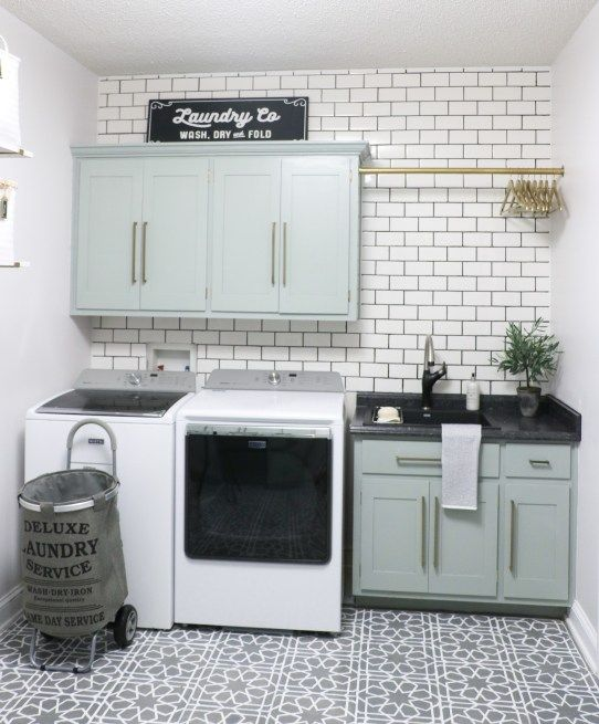 Blanco Laundry Room Makeover Reveal Part One Laundry Room
