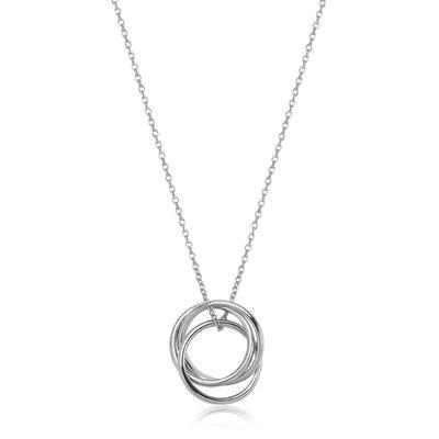 Srebrny Naszyjnik YES, 169 PLN, www.YES.pl/46661-srebrny-naszyjnik-AB-S-000-000-ANWJ113 #jewellery #silver #BizuteriaYES #shoponline #accesories #pretty #style