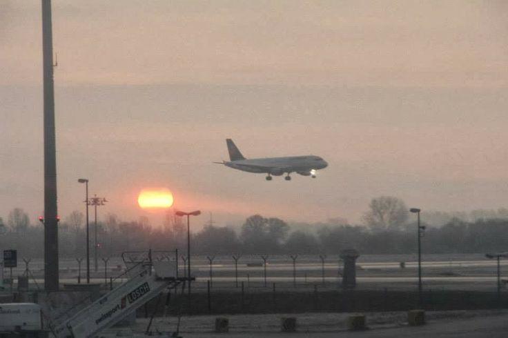 Munich Airport by Joanna Łukasiewicz