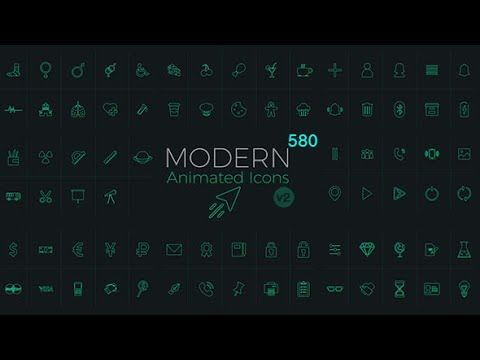 50 Loading Icon Animation Pack || Free After Effects Template