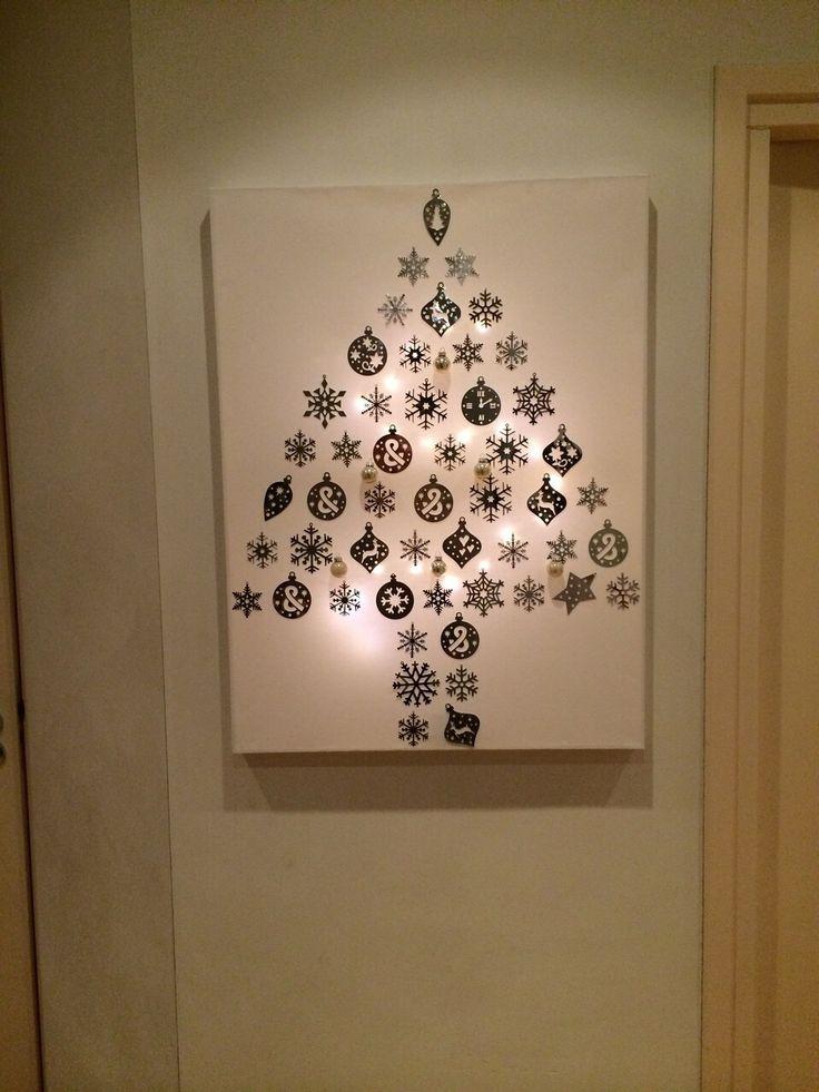 17 beste idee n over kerst doek op pinterest kerst schilderijen - Hang een doek ...