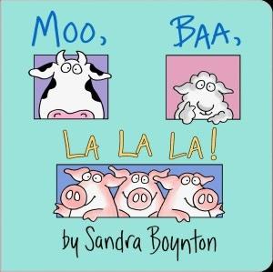 Moo, Baa, La La La! - Another great kid book.  This was Henry's favorite