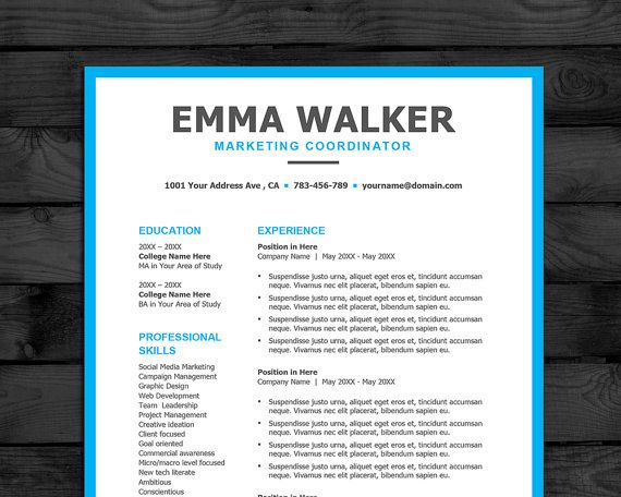 72 Best Resume Ideas Images On Pinterest | Resume Ideas, Resume