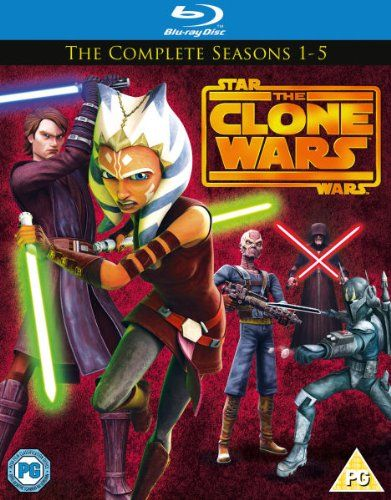 Star Wars: The Clone Wars - The Complete Series - Seasons 1-5 Box Set [Blu-ray] @ niftywarehouse.com #NiftyWarehouse #Geek #Products #StarWars #Movies #Film