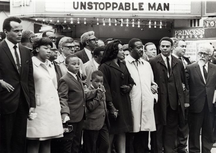 Mourners March for Martin Luther King