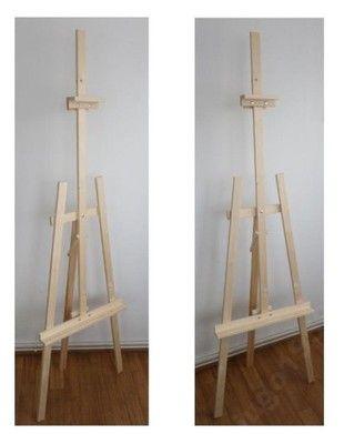Sztaluga z litego drewna 175 cm stabilna+GRATIS