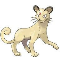 Persian evolution of meowth