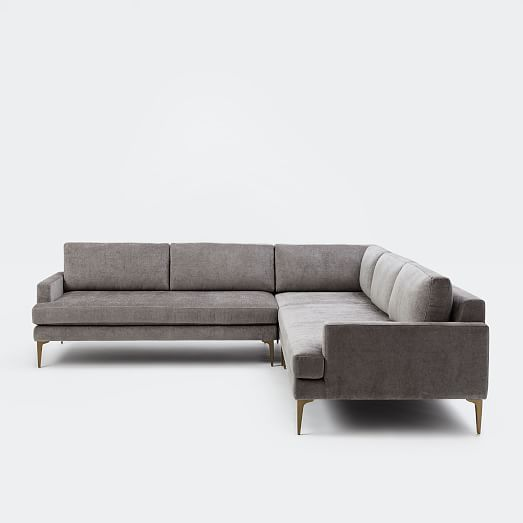Andes L-Shaped Sectional | Shapes, Stone and Living rooms