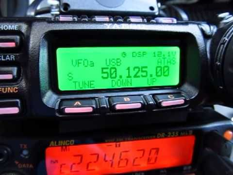 The Yaesu 857D is an all mode, HF, VHF & UHF transceiver. This video shows…