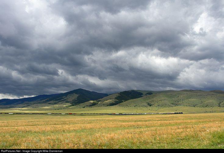 RailPictures.Net Photo: MRL 4403 Montana Rail Link EMD SD70ACe at Winston, Montana by Mike Danneman