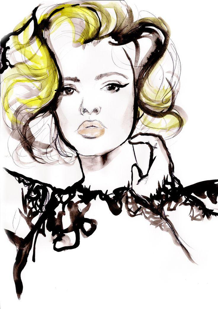 Scarlett Johansson for Dolce&Gabbana